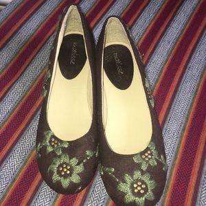 Matisse Dawson Embroidered Flats